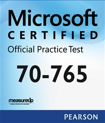 70-765: Provisioning SQL Databases Microsoft Official Practice Test