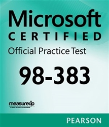 MTA: 98-383- Introduction to Programming Using HTML and CSS Microsoft Official Practice Test