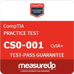 Cybersecurity Analyst (CS0-001) - 30 Day Practice Test - CompTIA Authorized