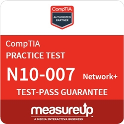 CompTIA Network+ (N10-007) 30-Day Online Practice Test