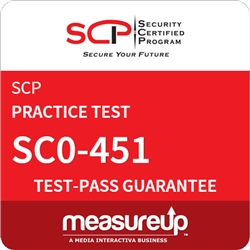 SC0-451 - Network Specialist: Tactical Perimeter Defense (TPD) Practice Test