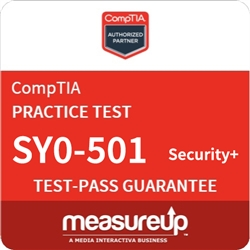 Security+ (SY0-501) - 30 Day Practice Test - CompTIA Authorized