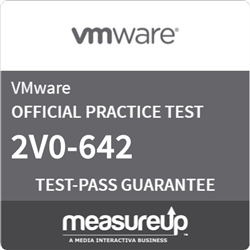 VMware Certified Professional 6 - Network Virtualization (2V0-642) Online Practice Exam