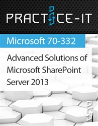 Advanced Solutions of Microsoft SharePoint Server 2013 Practice Lab