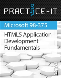 HTML5 Application Development Fundamentals (98-375) Practice Lab