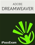 iPassExams 'Adobe Dreamweaver Exam Study' includes 150+ online exam prep questions for the Adobe Dreamweaver CS6 '9A0-332' and Adobe Dreamweaver CC '9A0-356' ACE Exams.