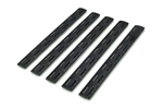 BCM KEYMOD Rail Panel Kit - 5 Pack - Black