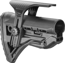 FAB GL-Shock Recoil Reducing AR-15 stock - Cheek Riser