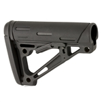 Hogue Rubber Overmold AR Collapsible Stock (Black)