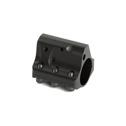 "JP Adjustable Gas Block Split Yoke .750"" barrel Black"