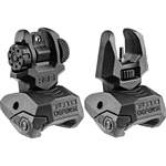 Mako Front/Rear Polymer Backup Sight Set (Black)