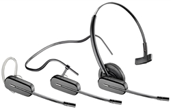 Plantronics CS540 Wireless Headset System - Three Wearing Styles