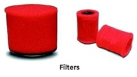 FOAM BLOWER FILTER FOR ALL 25 HP TO 250 HP MOTORS, 311001F, 311003F, 311005F, 311007F, 311010F, 311015F, 188-15, 188-16, 188-17, 188-18, 188-19, Sabina, Thrige, Baldor