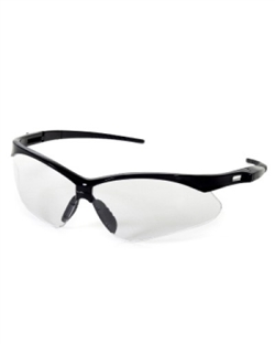 iNOX Roadster Clear Lens Safety Glasses w/ Black Frame 12/bx