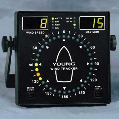 Young Wind Tracker Marine Wind Instruments Scientific