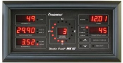 Multi-display for the Long Range MK-III Weather Station Black