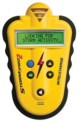 SP2-Y StormPro2 Lightning Detector, Yellow