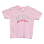 Lefties Rule Youth Pink T-Shirt, Queen Victoria