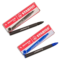 Stabilo 'S Move Easy cartridges black - For left-handed pen