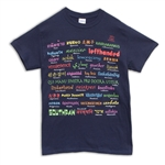 Left Handed in Foreign Languages T-Shirt
