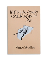 Left-Handed Calligraphy by Vance Studley - paperback