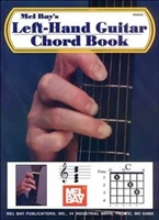 Pocket guide to Left Handed Guitar chords by William Bay