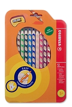 Left Handed Stabilo Colored Pencil Set