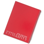 "8.0"" x 10.5"" Left-Handed Wide Ruled Spiral Notebook"