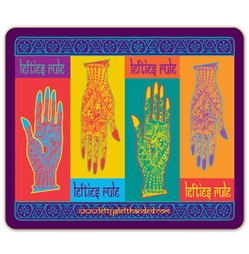 Lefty's Henna Hands Mouse Pads