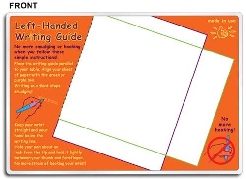 little lefty 39 s writing guide. Black Bedroom Furniture Sets. Home Design Ideas
