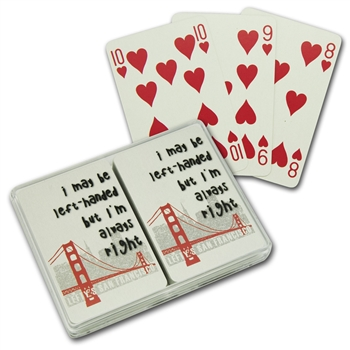 Lefty's Left-Handed Playing Cards - Card decks for left handers