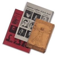 3 Piece Left-Handed Sketch Book Set