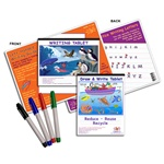 4 Piece Left-Handed Writing Guide Set