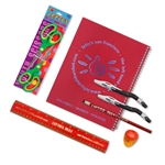 8 Piece Left-Handed School Supplies for Lefties Over 8