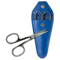 Curved Nail Scissors with Case