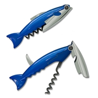Blue Left-Handed Minnow Corkscrew