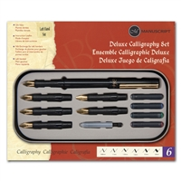 Deluxe Left-Handed Calligraphy Set