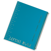 Wide Ruled Lefties Rule Notebook