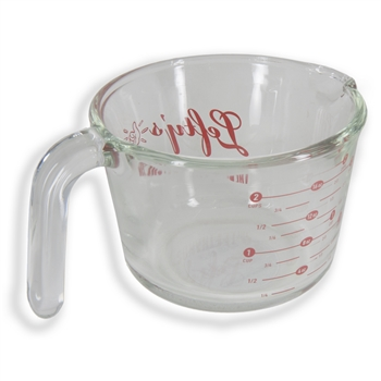 2 Cup Glass Lefty Measuring Cup