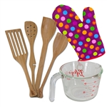 6 Piece Baker's Kitchen Set