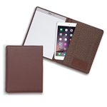 Lefty's Left-Handed Brown Eco-Leather Padfolio