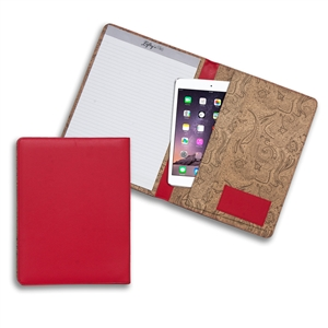 Lefty's Left-Handed Red Eco-Leather Padfolio