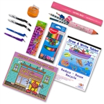 Complete Little Lefty Art Set with Pink Accessories
