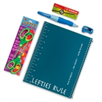 Left-Handed Notebook Set with Lefty scissors & mechanical pencil