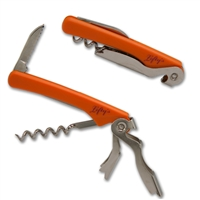 Orange Lefty's Logo Corkscrew