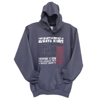 Lefties Sayings Hoodie