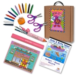 Little Lefty Art Set with Pink Accessories