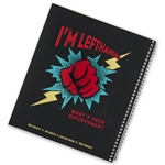 Left-Handed College-Ruled Notebook with Super Power image.
