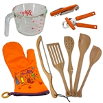 9 Piece Left Handed Basic Kitchen Set