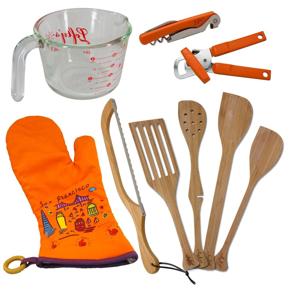 Left Handed 9 Piece Basic Kitchen Set
